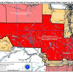 Evac Chair Canada Tiger Print Dining Chairs Evacuation Order Issued For East Of Titetown To The Crd