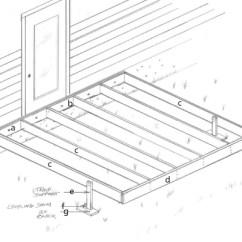 Stair Railing Parts Diagram Garage Sub Panel Wiring Deck Framing