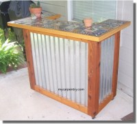 Build Your Own Patio Bar Plans DIY Free Download Mission ...