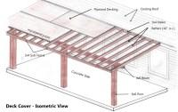 Woodwork Building Plans Patio Cover PDF Plans
