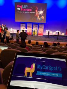 MyCarSpot à BigUp 4 Startup !