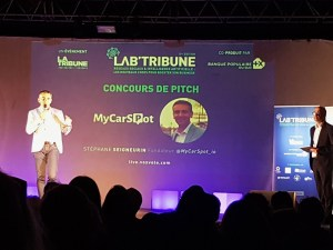 Lab'Tribune 2020 MyCarSpot vainqueur