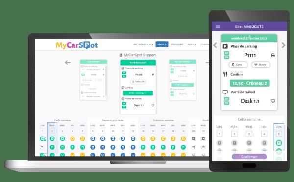 MyCarSpot, solution digitale de gestion des espaces partagés