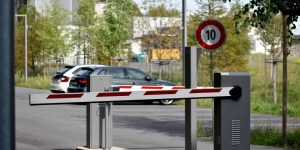 contrôle d'accès au parking