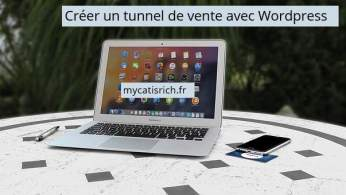 créer WordPress en tunnel