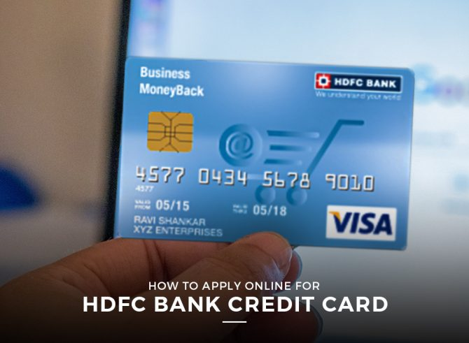 A secured credit card can be a helpful tool if you're trying to build or repair your personal credit profile. How To Apply Online For Hdfc Bank Credit Card Myce Com
