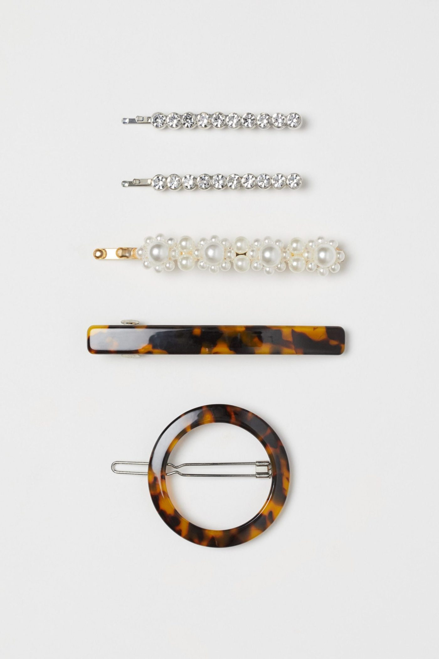 H&M Hair Clips Set of Five