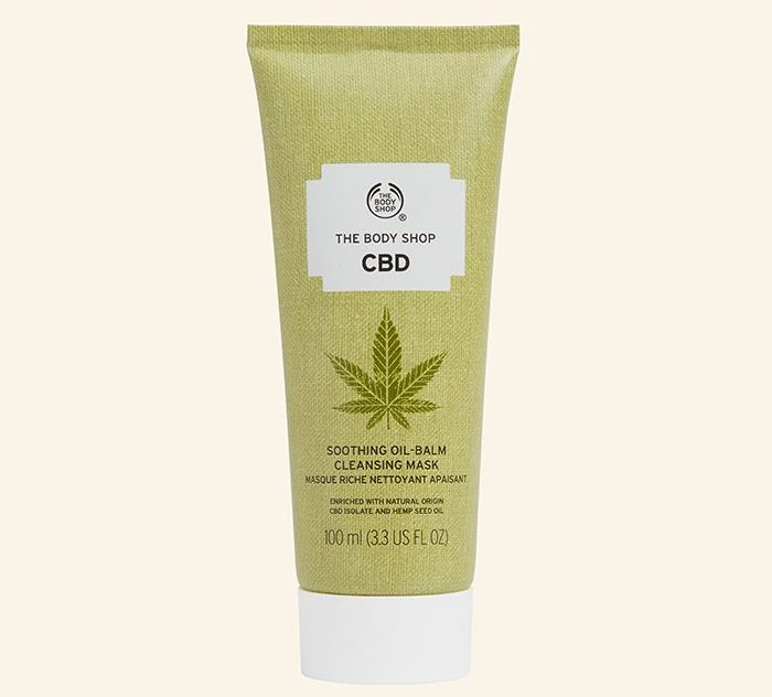 The Body Shop CBD Soothing Oil-Balm Cleansing Mask