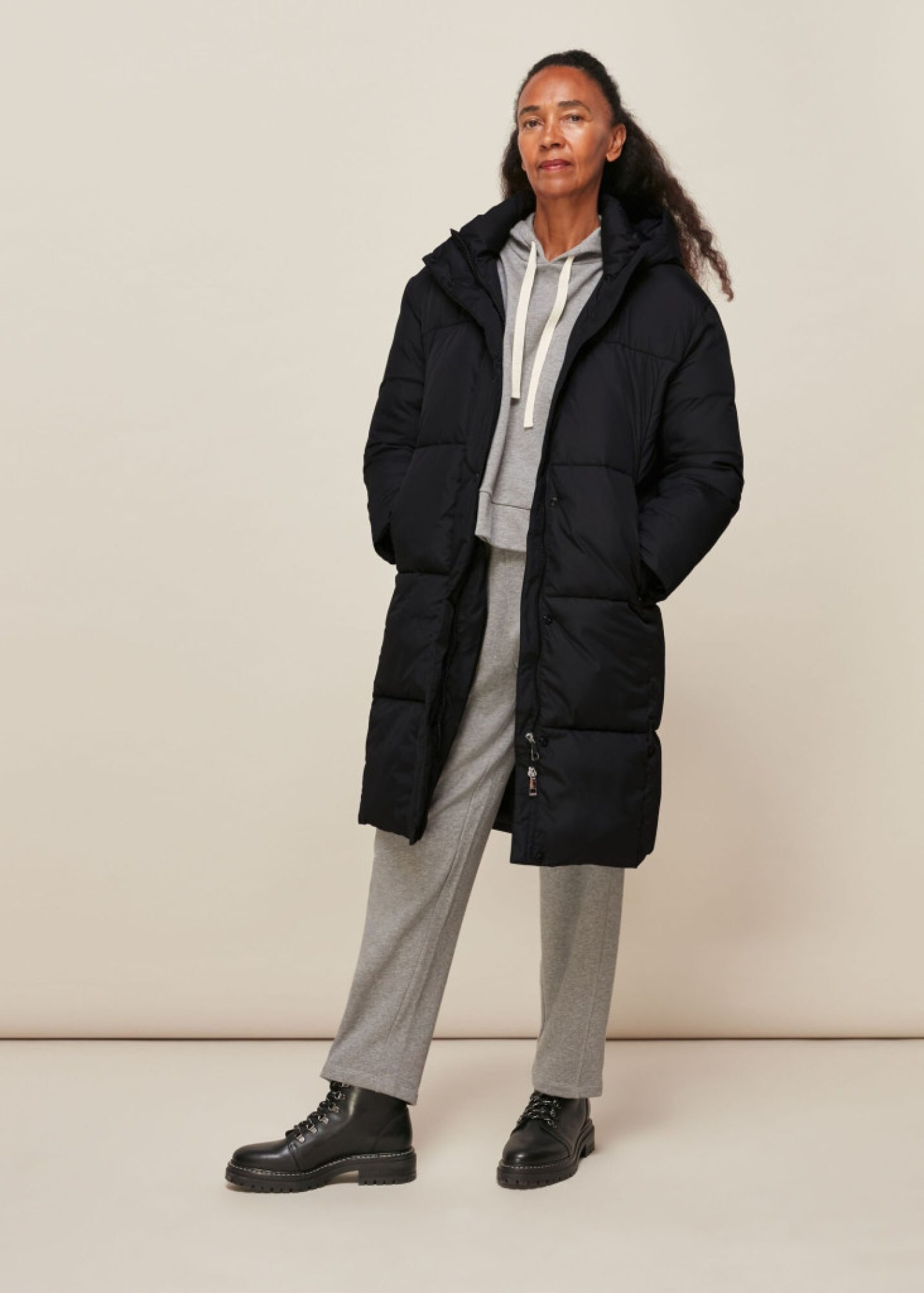 HOODED PUFFER JACKET (Picture: Whistles)