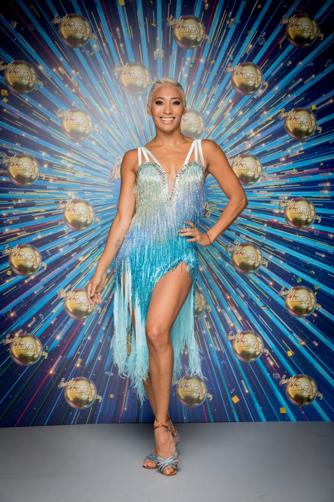 Programme Name: Strictly Come Dancing - TX: 17/10/2020 - Episode: Launch show (No. n/a) - Picture Shows: The Strictly Come Dancing professional dancers. Karen Hauer - (C) BBC - Photographer: Guy Levy