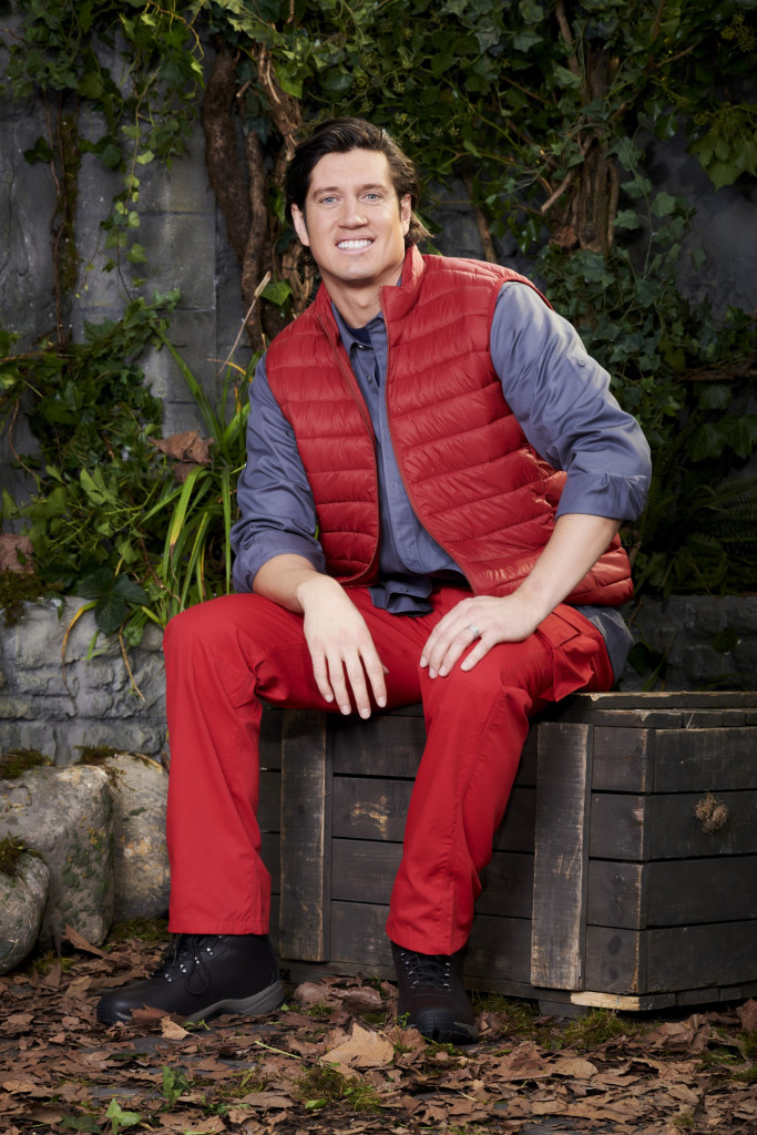 Editorial use only Mandatory Credit: Photo by ITV/REX (11008107h) Vernon Kay 'I'm A Celebrity... Get Me Out Of Here' TV Show, Campmates, Series 20, UK - 15 Nov 2020
