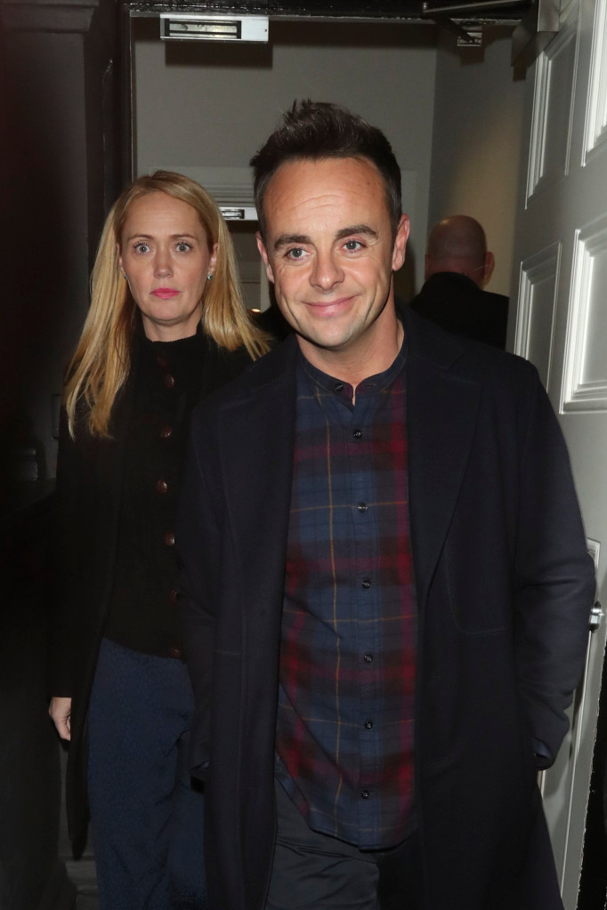 I M A Celebrity 2020 Ant Mcpartlin Shares Rare Shout Out To Girlfriend Anne Marie Corbett And Children My Celebrity Life