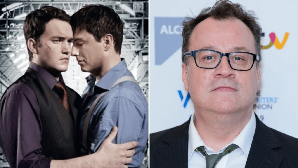 My Celebrity Life – Gareth DavidLloyd L opened up about a conversation with his friend and former showrunner Picture GettyBBC