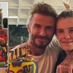 My Celebrity Life – The birthday boy and his proud dad Photo Instagram
