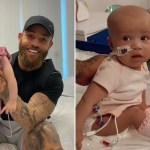 My Celebrity Life – Ashley Cain revealed his daughters leukaemia has returned Picture Instagram
