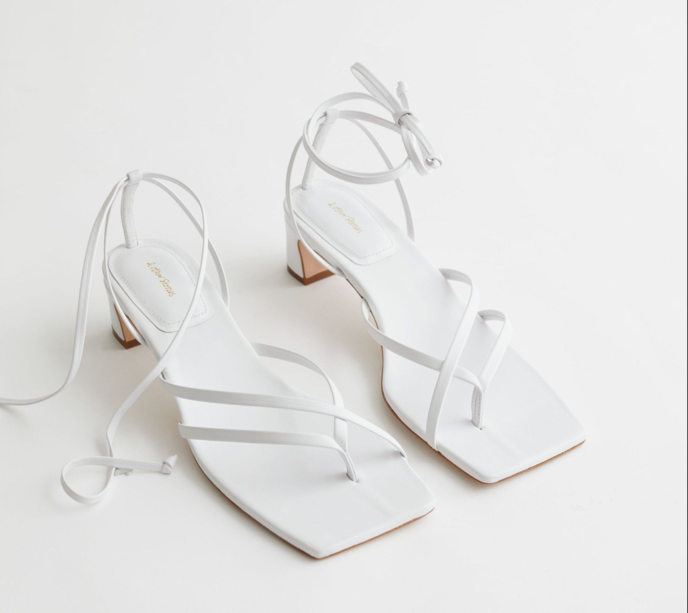 White sandals from & Other Stories