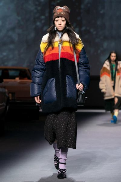 Coach's Show Featured Printed Puffers – Plus J.Lo and Megan Thee Stallion Cameos