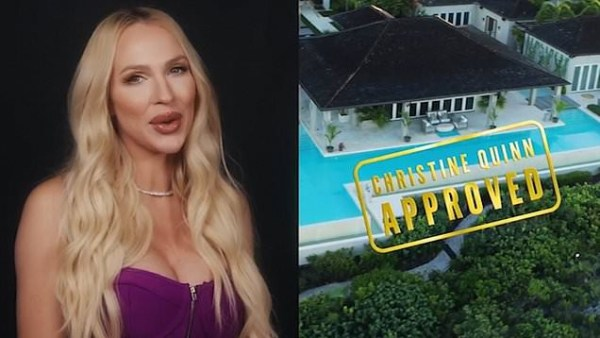 Selling Sunset's Christine Quinn gives exclusive tour of new Too Hot To Handle luxury villa