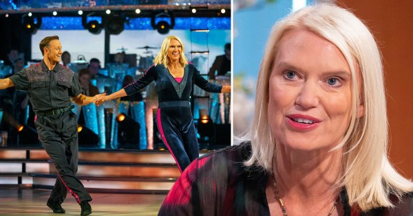 Anneka Rice was'broken' and  'depressed' after Strictly Come Dancing: 'It brings you very low'