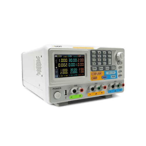 OWON 3-Channel Programmable DC Power Supply Left