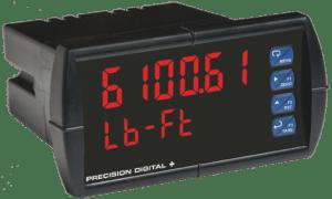Precision Digital PD6100 ProVu Strain Gauge, Load Cell & mV Digital Panel Meter