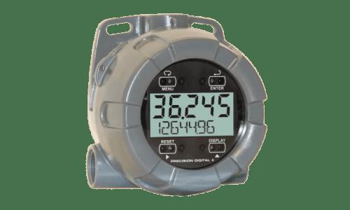 Precision Digital PD6720 Vantageview NEMA 4X Loop-Powered Flow Rate/Totalizer