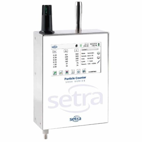 Setra 5000 Series Remote Airborne Particle Counter