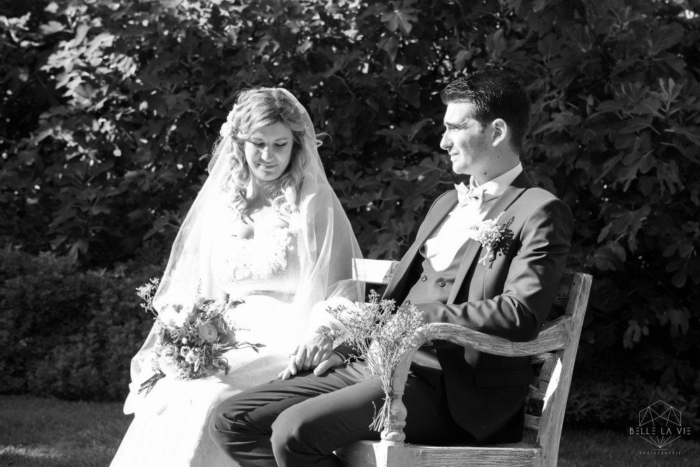 Tiphanie et Florian, cérémonie laïque, Auberge des Adrets.