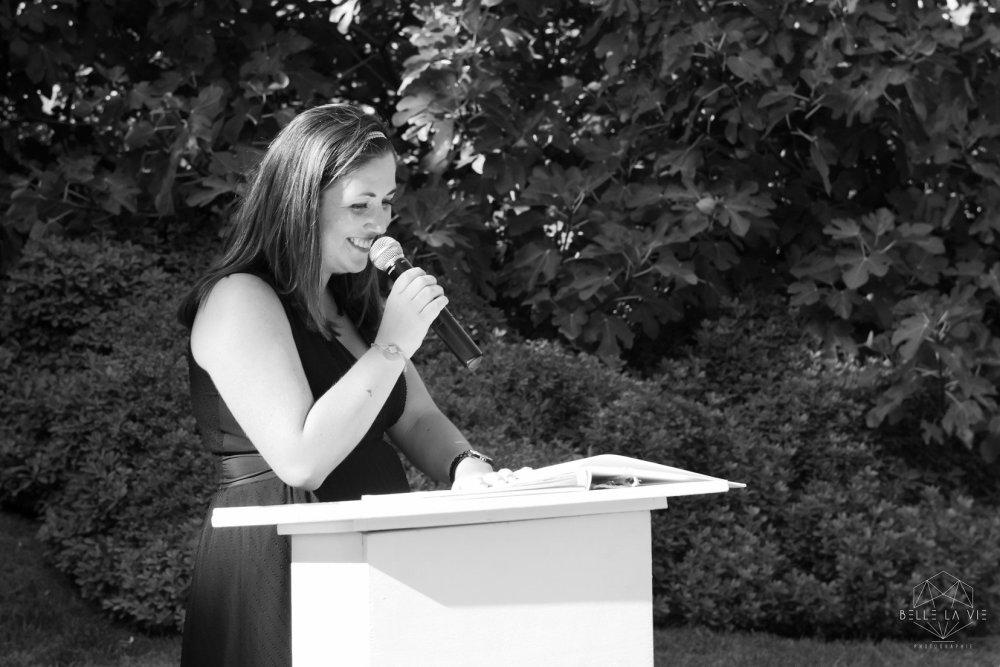 Anne-Sophie, MyCeremonie, officiante de cérémonie laïque.