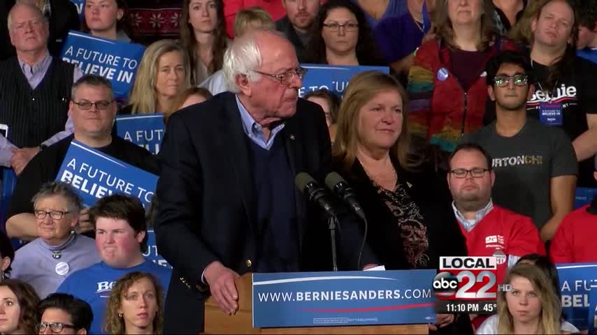 Sanders Faces Uphill Battle to Nomination_76274820-159532