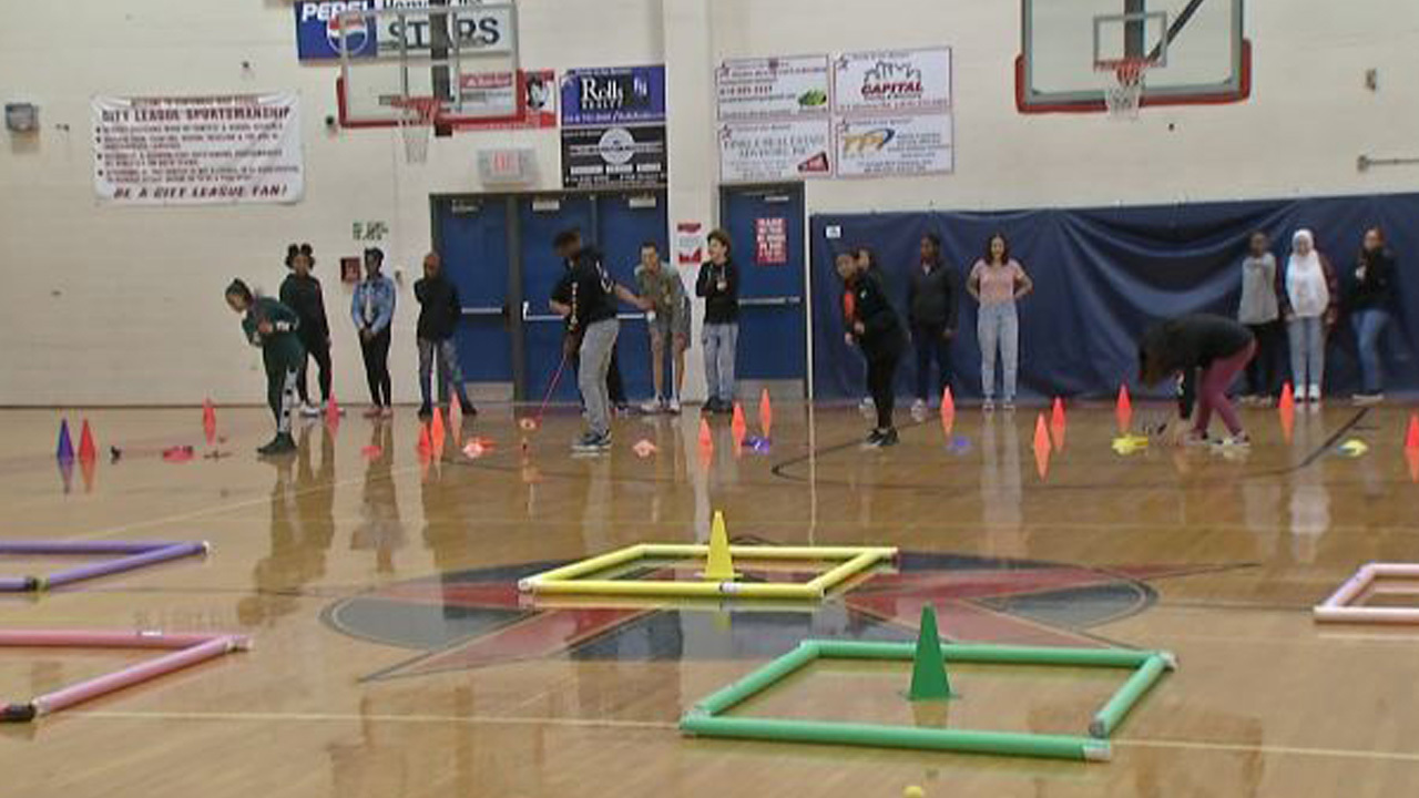 First Tee teaching students golf and life lessons