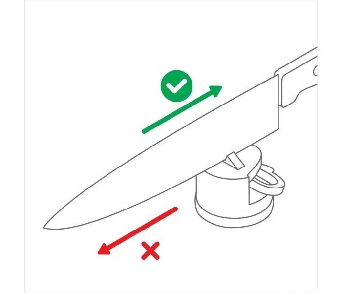 AnySharp PRO Red Knife Sharpener