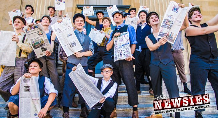 SALT Performing Arts Presents Newsies, November 30 – December 16, 2018