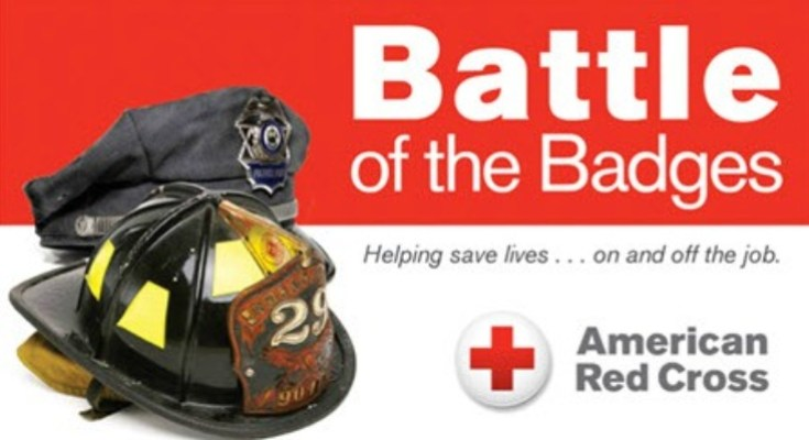 "Give Blood Nov. 9 at ""Battle of the Badges 19320"" Blood Drive Competition in Chester County"