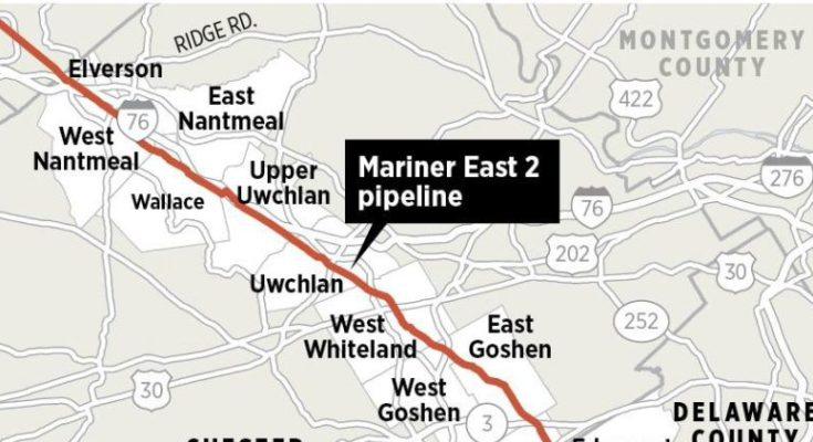 Chester County District Attorney Opens Criminal Investigation Into Mariner East Pipeline