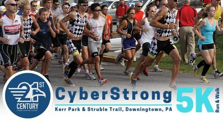 Second Annual Cyber Strong 5K Run / Walk in Downingtown