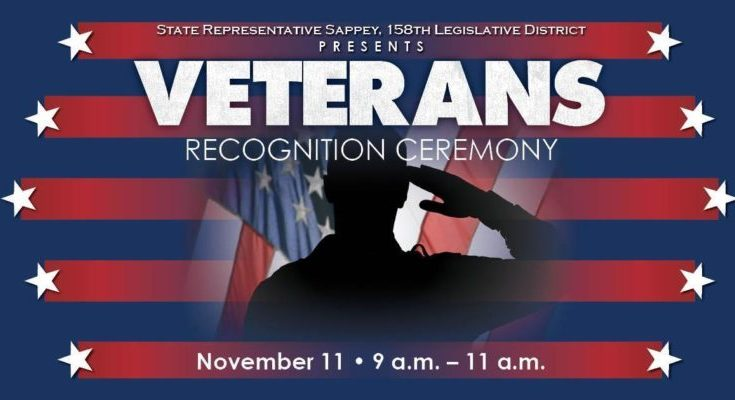 Sappey to Host Veterans Day Recognition Ceremony