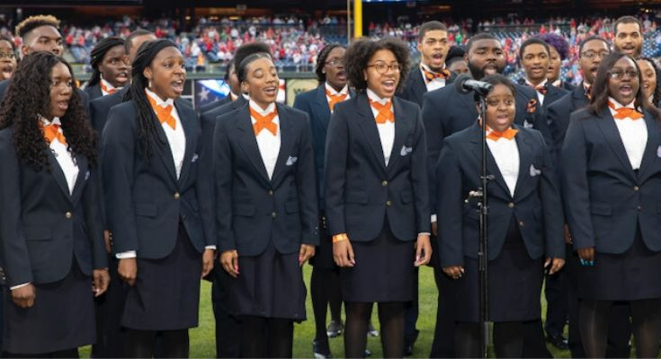 Lincoln University Concert Choir to Sing National Anthem at Eagles-Cowboys Football Game