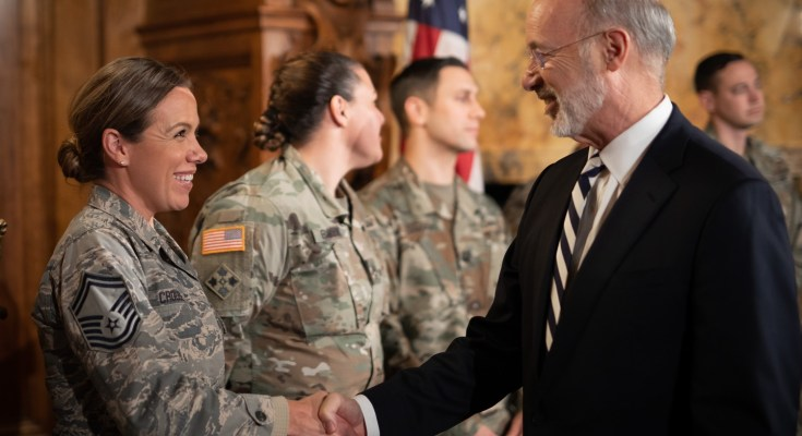 Gov. Wolf Encourages PA Guard Members to Enroll in First-in-the-Nation Education Program for Guard Families