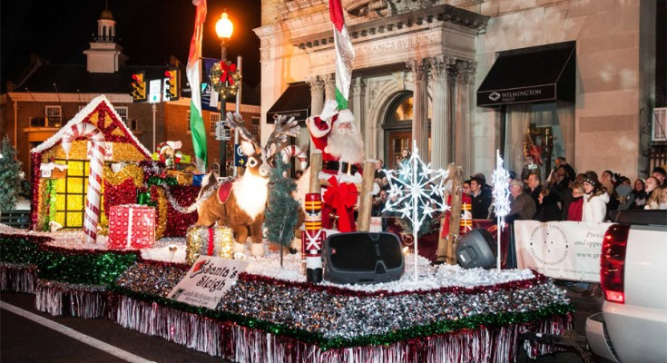 2019 Christmas Parade, Jingle Elf Run, Holiday Village and Santa in West Chester
