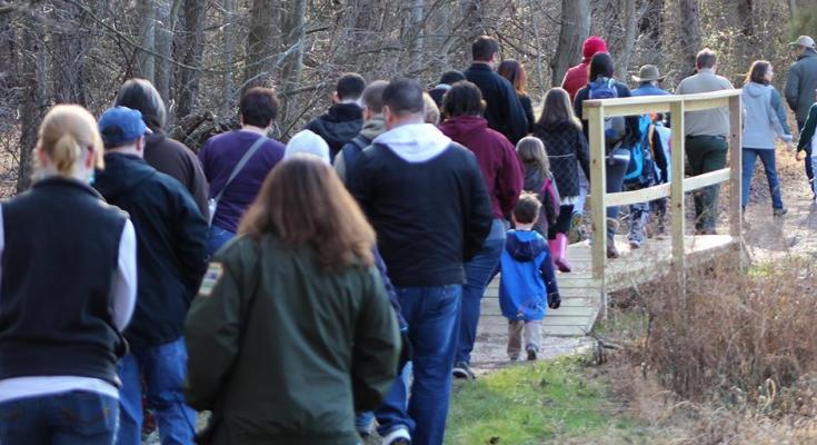 Pennsylvania Hosts First Day Hikes at State Parks on New Year's Day