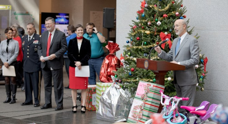 Wolf Administration Sends Holiday Cheer to Hundreds of Families, Seniors at 30th Annual Holiday Wish Program