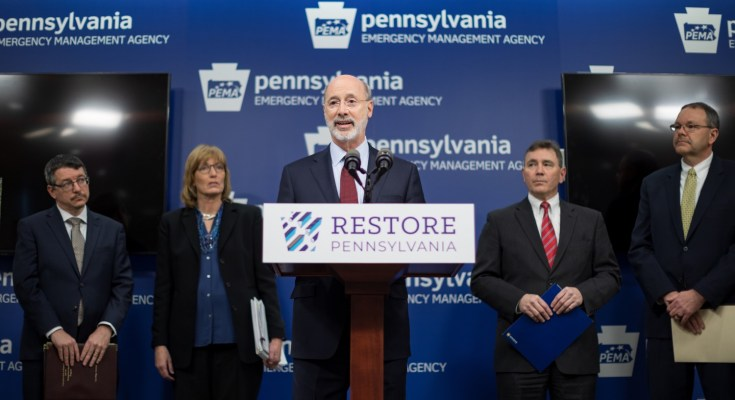 Governor Wolf: Restore Pennsylvania is Still the Only Comprehensive Plan to Address Community Infrastructure Needs