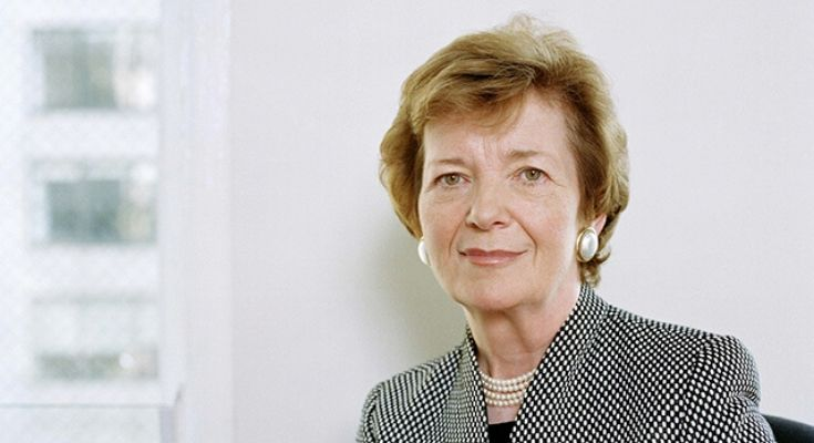 Climate Activist and Former President of Ireland MARY ROBINSON to Speak at West Chester University