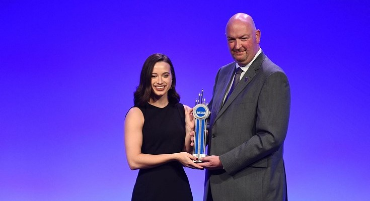 WCU's Kaitlin Hatch Receives NCAA Today's Top 10 Award