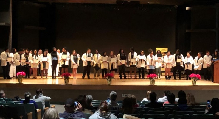 White Coat Ceremony Symbolizes Higher Education Commitment for First-Generation, College-Bound Students in Coatesville