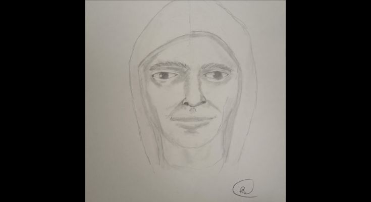 Sketch of Home Invasion Suspect Released