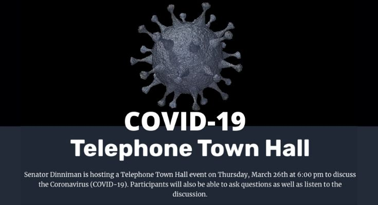 Dinniman to Host Telephone Town Hall on COVID-19