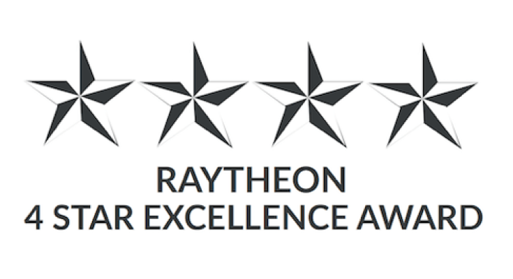 Vishay Intertechnology Named 4-Star Supplier Excellence Award Winner by Raytheon Integrated Defense Systems