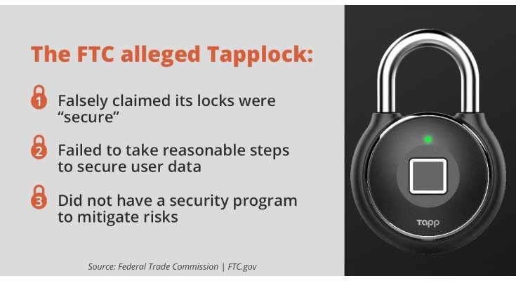 Canadian Maker of Smart Locks Settles FTC Allegations That it Deceived Consumers about its Security Practices